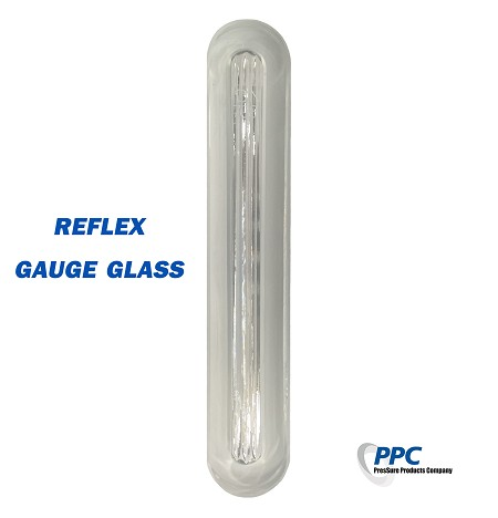 SIZE 4 REFLEX LEVEL GAUGE GLASS - STANDARD BOROSILICATE